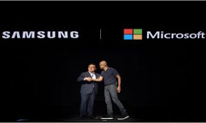 Samsung and Microsoft