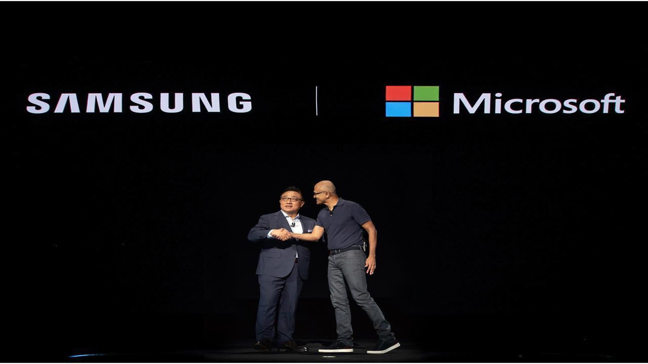 Samsung and Microsoft
