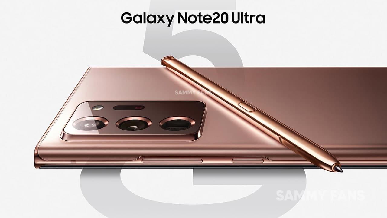 Samsung Galaxy Note 20 Update