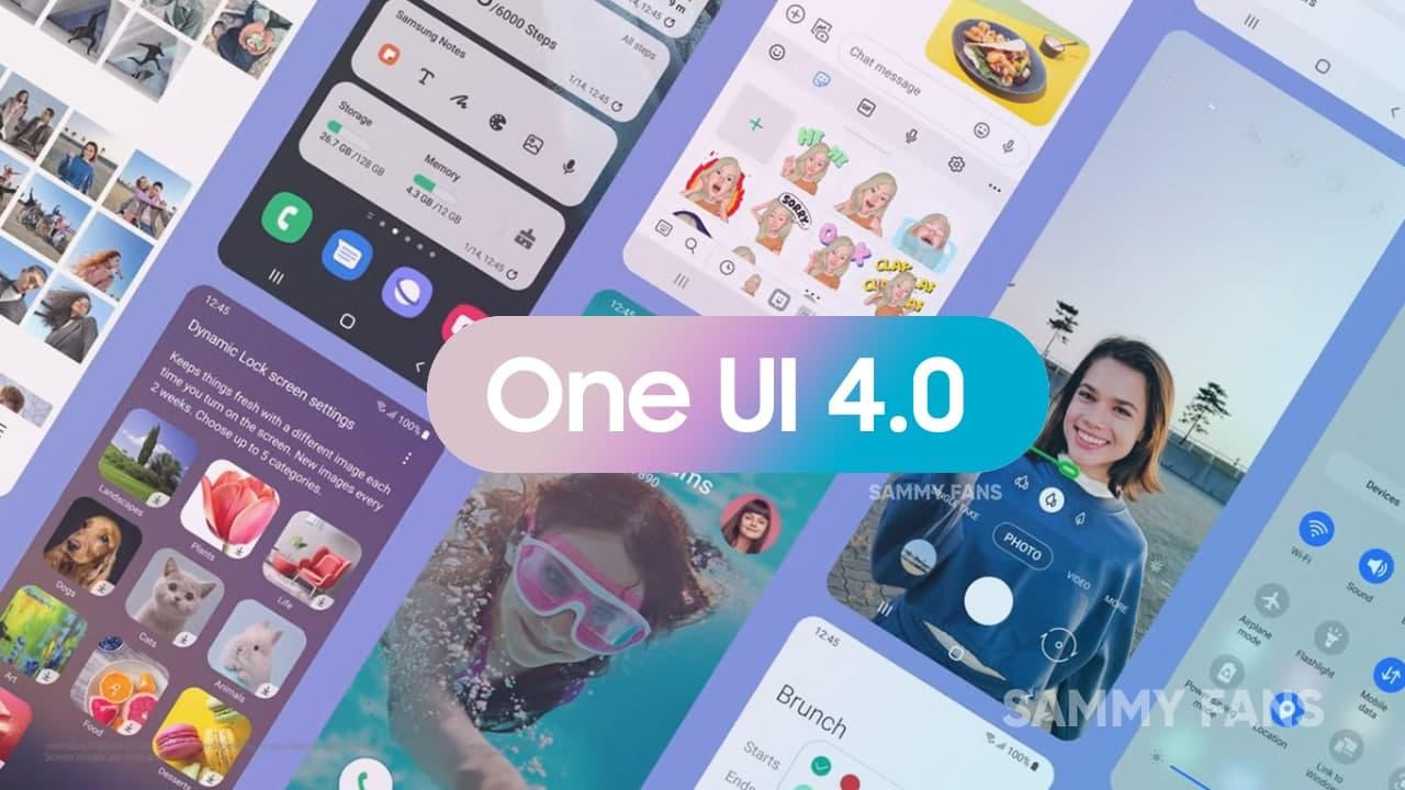 Samsung One UI 4.0 Device List