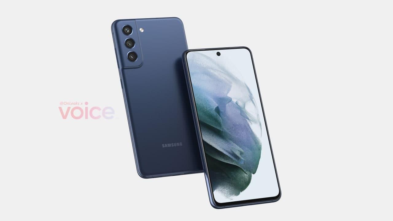 Samsung Galaxy S21 FE Render