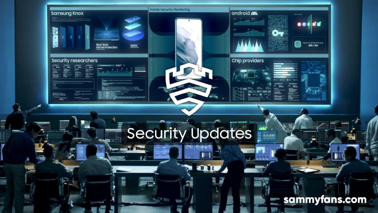 Samsung Galaxy Security Update