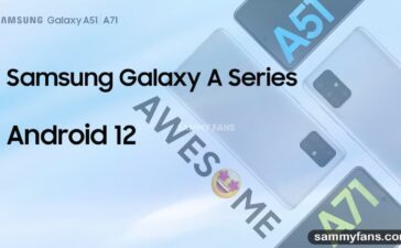 Samsung Galaxy A Android 12