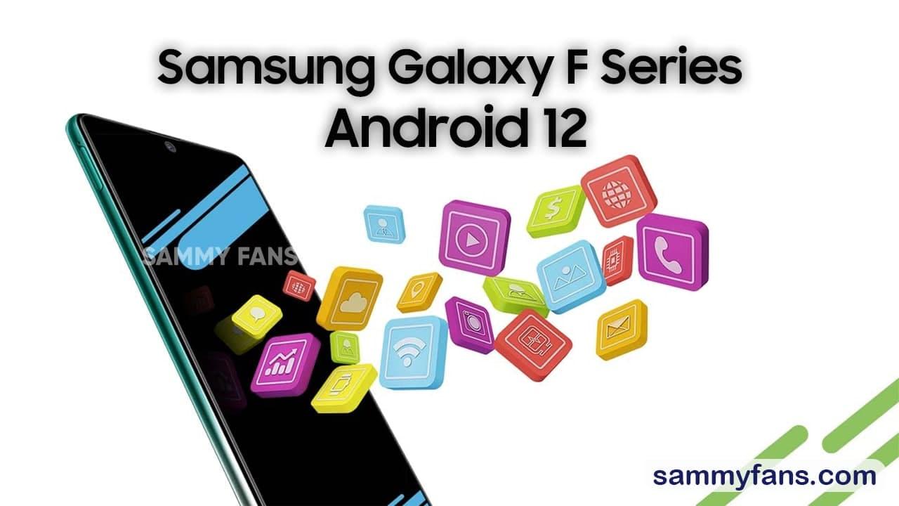 Samsung Galaxy F Android 12