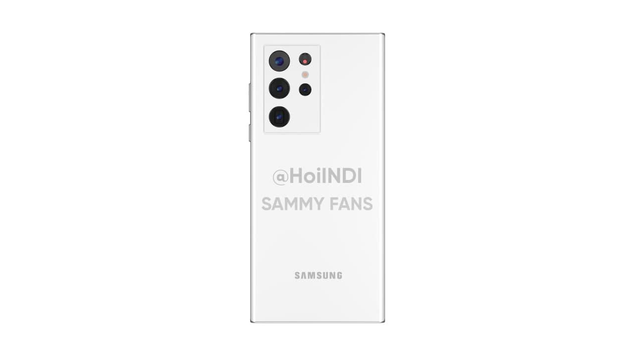 Samsung Galaxy Note 22 Ultra Render