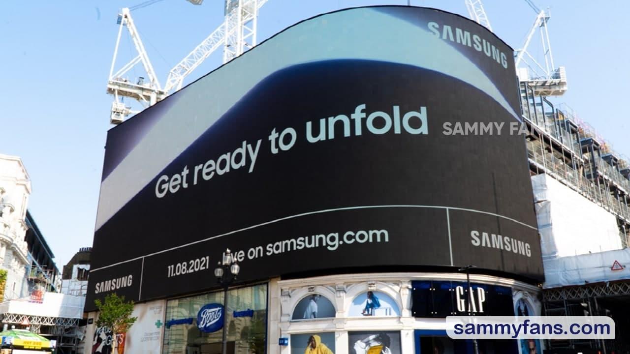 Samsung Unpacked Outdoor Advertisement