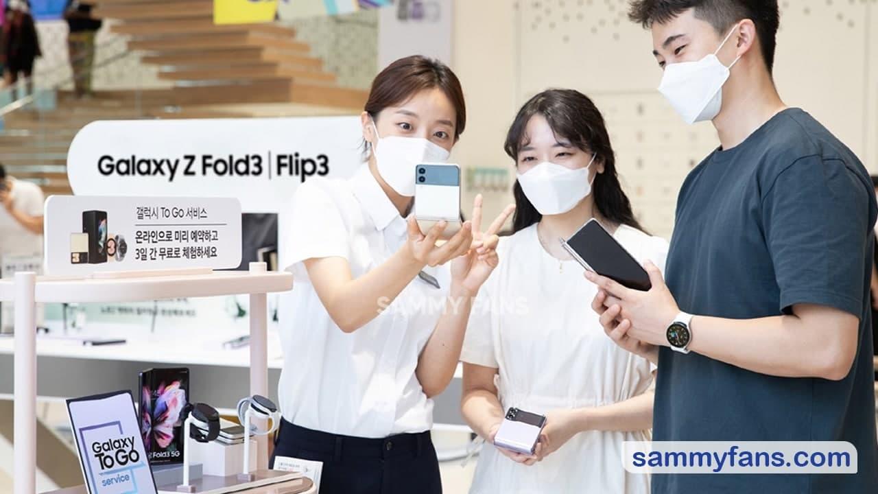 Galaxy Z Fold 3 and Z Flip 3 pre-booking