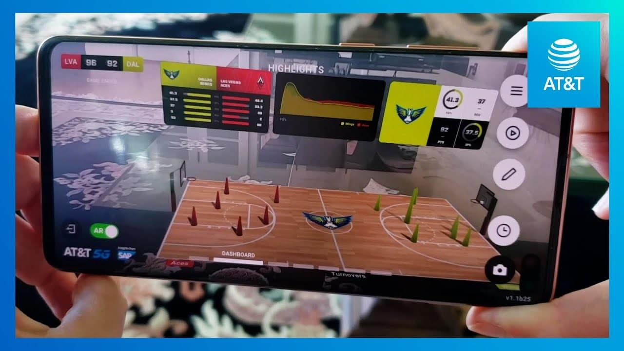 AT&T AR Game View