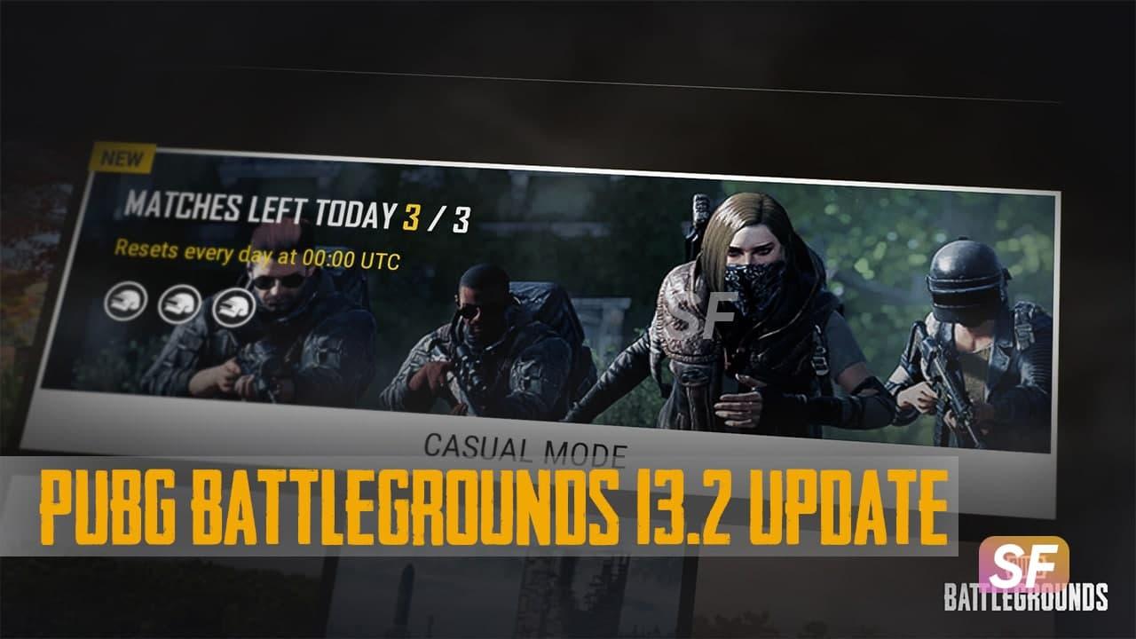 PUBG Battlegrounds 13.2 Update-1