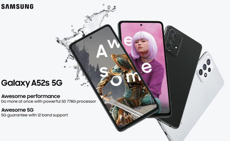 Samsung Galaxy A52s India