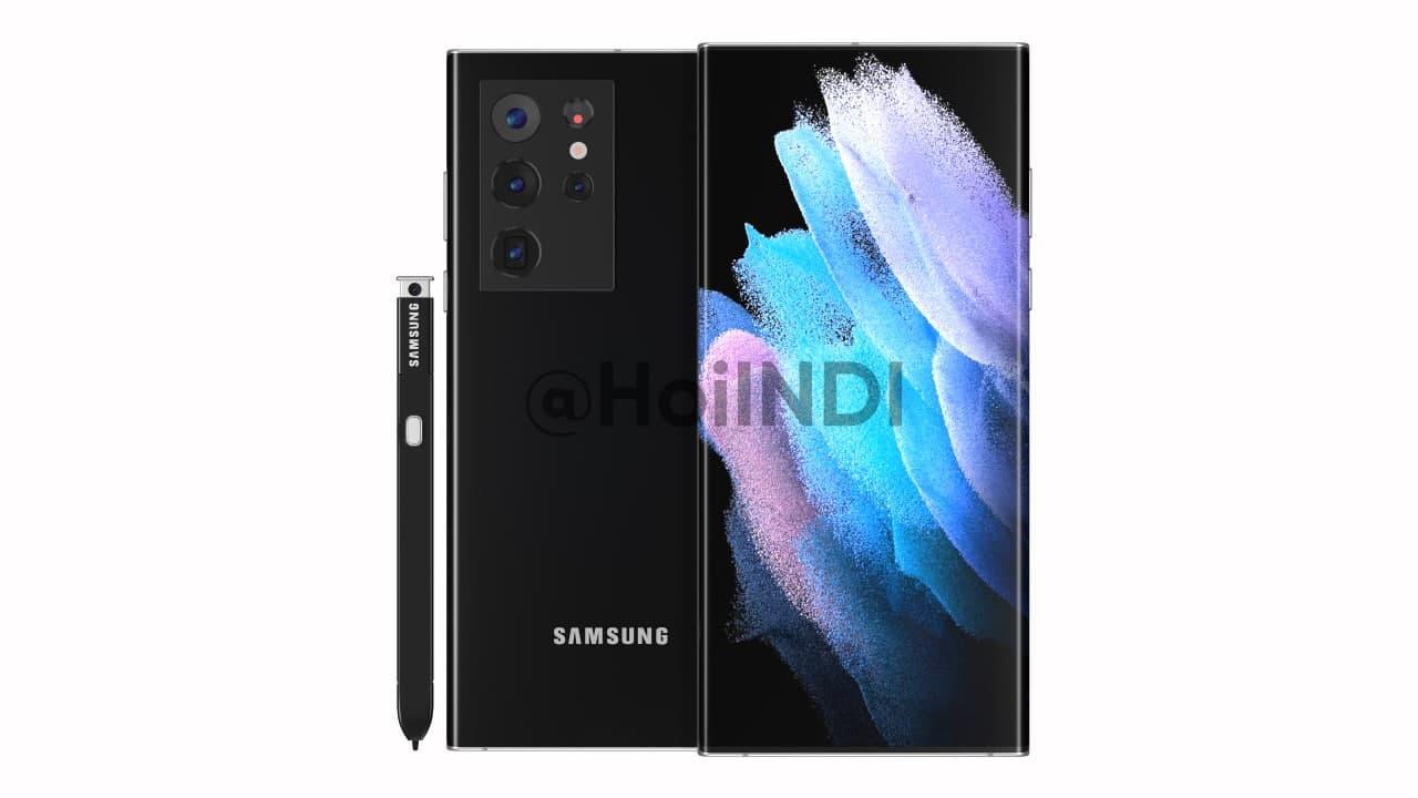 Samsung Galaxy Note S Pen Camera Render
