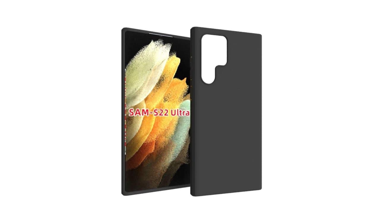 Samsung Galaxy S22 Ultra Case Renders