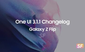 Galaxy Z Flip One UI 3.1.1 Changelog
