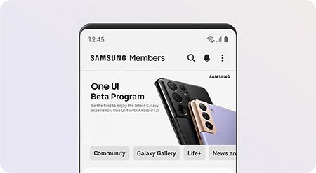 One UI 4 Beta Banner