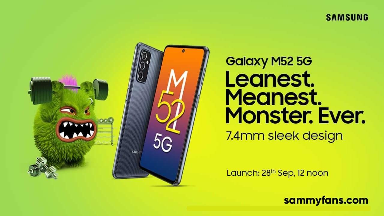 Samsung Galaxy M52 5G Launch Date