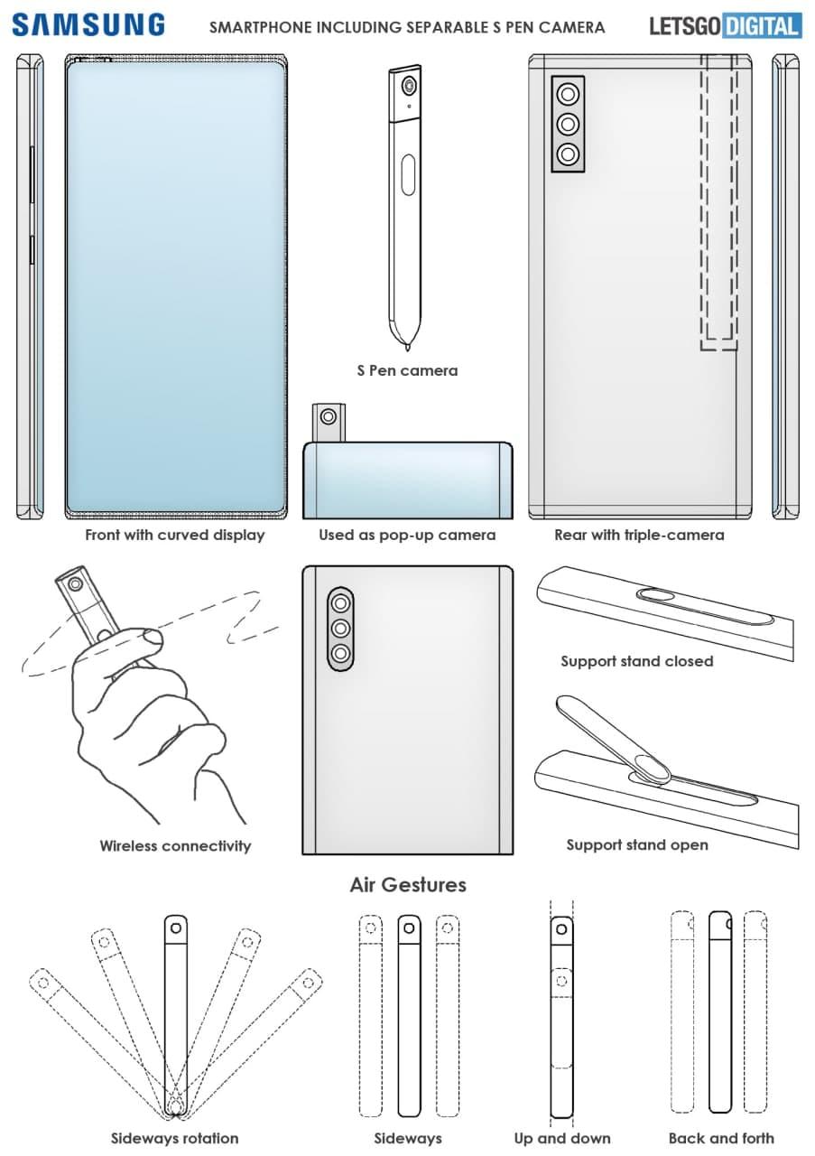 Samsung Galaxy Note S Pen Camera