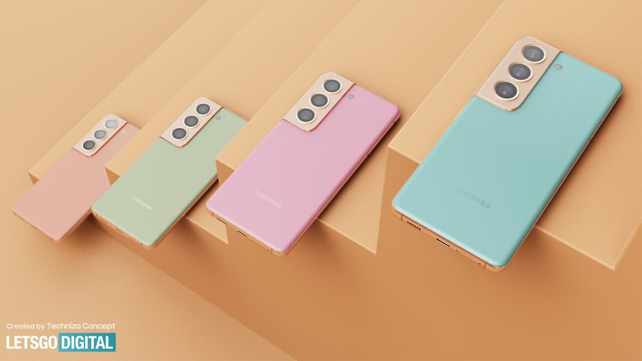 Samsung Galaxy S22+ Renders