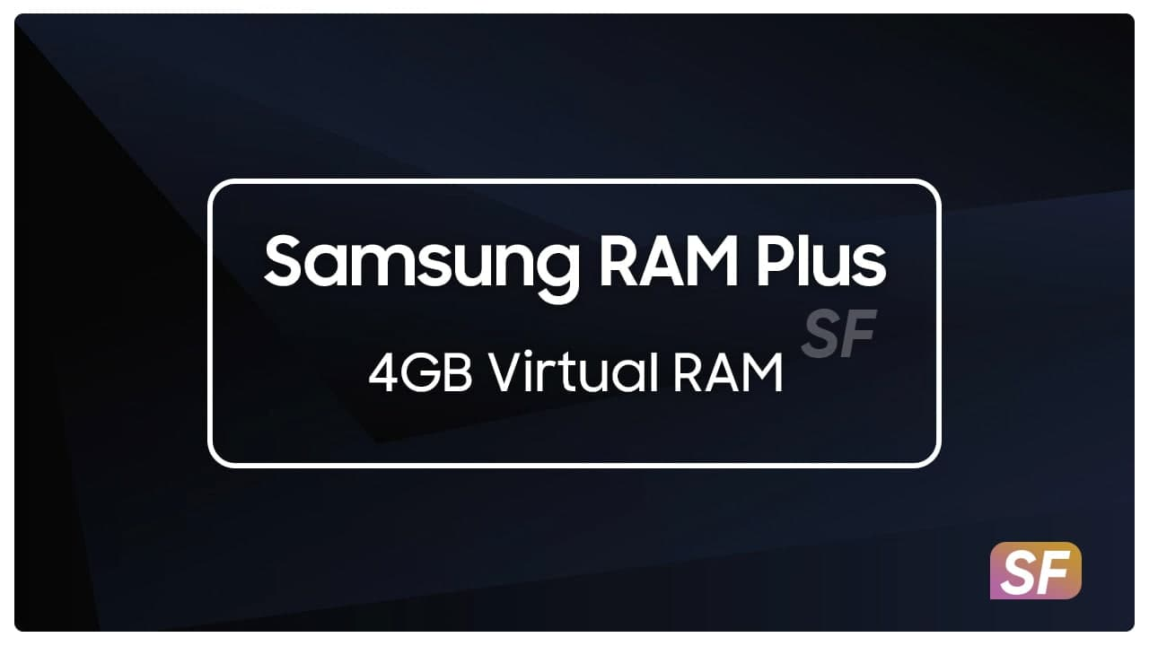 Samsung RAM Plus virtual ram device list