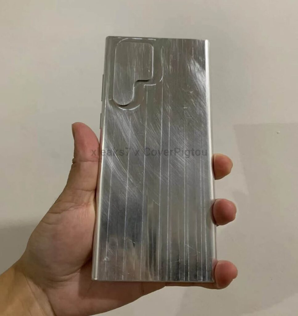 Galaxy S22 Ultra Aluminum Dummy