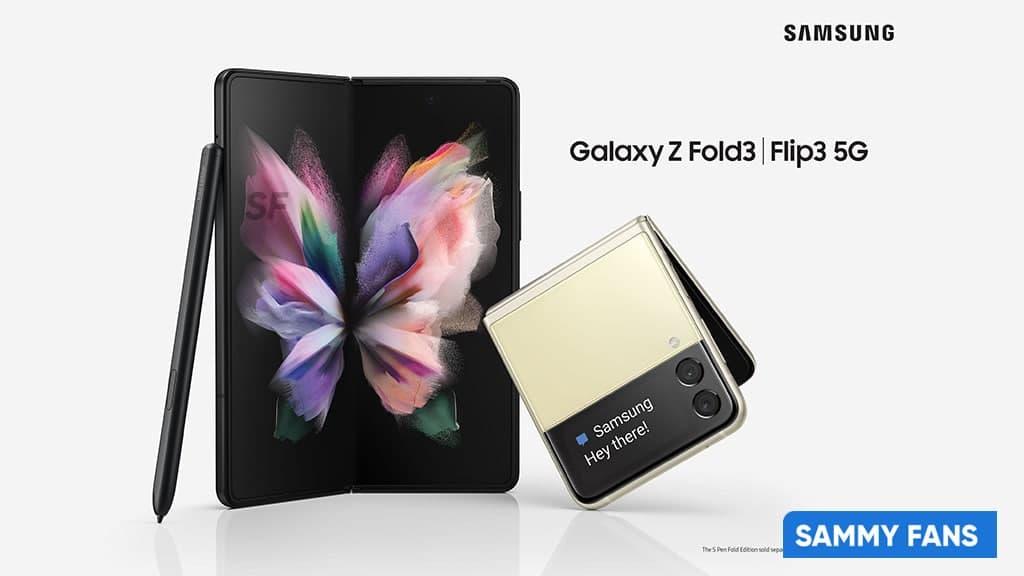 Galaxy Z Fold 3 Flip 3