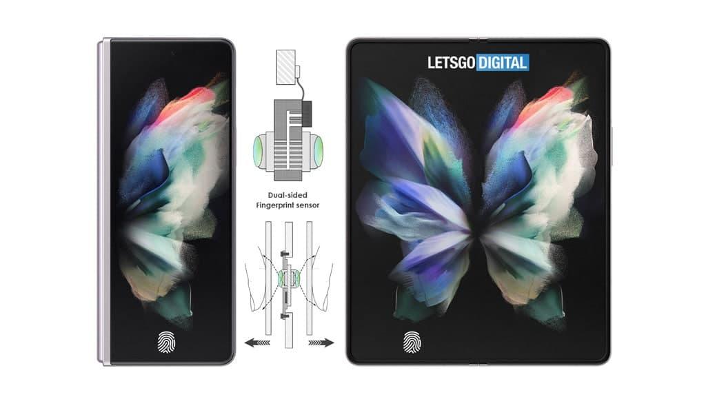 Samsung Galaxy Z Fold 4 Patent