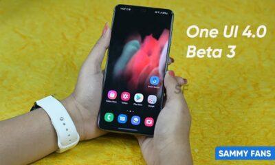 One UI 4 Beta 3