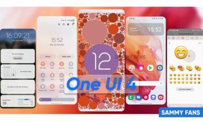 One UI 4.0 Release Date